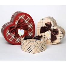 Alta qualidade personalizado coração caixa de presente caixas de chocolate