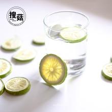 Замораживание-Высушенный Зеленый Лимон Богат Ломтики Питания Заедк