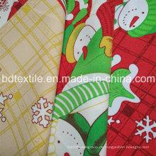 Weihnachten bedruckt Minimatt für Tischtuch! 100% T, 240G / M, leicht zu waschen und zu trocknen
