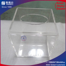 Specialized Factory Supply Square Tissue Box with Lid