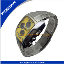 Relógio dos homens feitos sob encomenda da forma com fábrica confiável do relógio