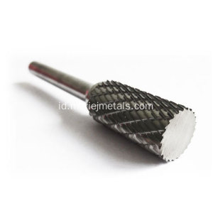 Jenis Silinder Tungsten Carbide Rotary Burr
