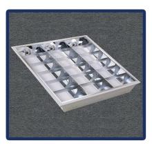 Luz de painel do diodo emissor de luz, 600 * 600 / T5 / 4X14W Recessed montou a lâmpada da grade