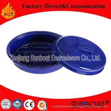 Sunboat Enamel Roaster Turkey Roast Bake Pot Kitchenware/ Kitchen Appliance