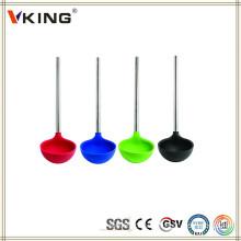 Melhores produtos de venda Melhores utensílios de cozinha de silicone Ladle
