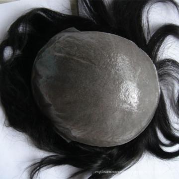 Estágio da beleza Marrom Destaque mens cabelo longo homens peruca de cabelo humano para as mulheres