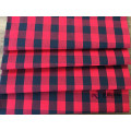 Classic+Red+And+Black+Plaid+Cotton+Apparel+Fabric