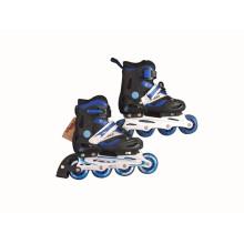Deportes de los niños Patín en línea azul y negro