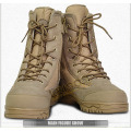 Tactical Desert Boots of Waterproof Nylon and Cowhide Leather