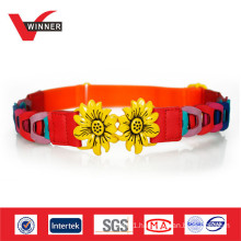 Lovely Sun Flowers Child PU Kids Belts