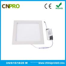 Luz de painel quadrada fixada na parede do diodo emissor de luz do preço barato