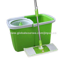 Easy life newest 360° rotating spin magic easy mop with water outlet, 9L water capacity
