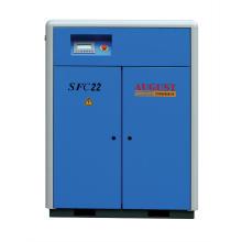22 kW / 30 PS August Stationärer luftgekühlter Schraubenkompressor