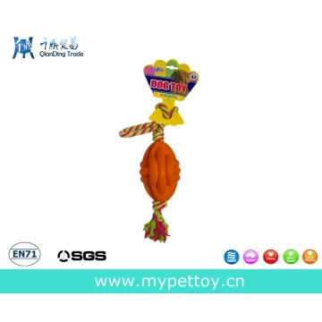 Rope with Foam Rubber Ball Pet Toy