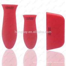 Silicone Hot Handle Holders with high quality,  Assist Handle For Cast Iron Skillets ( Red )