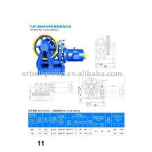 Máquina de tração Elevador VVVF, motor