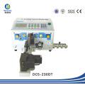 Cortador de fio automático de alta precisão e Stripper de cabo / Máquina de Twister