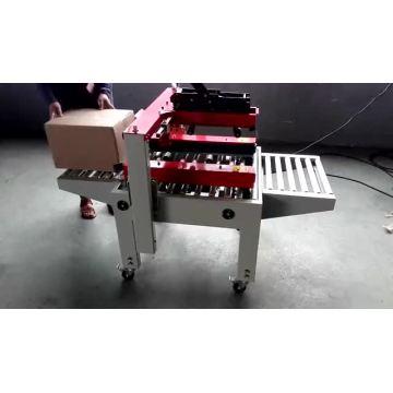 Máquina de selagem de caixa de fita adesiva automática