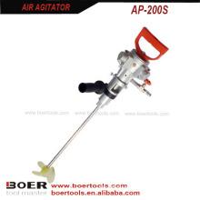 Batedor de ar 1 / 8HP do misturador da pintura de ar do agitador do ar da mão-preensão