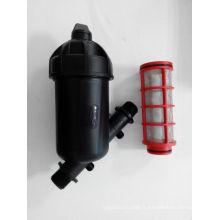 Filtre à tamis y type 120mesh moyen filtre en plastique pour l'irrigation