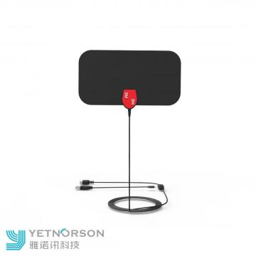 Small Size Ultra-thin Flat HDTV ATSC Antenna Indoor TV Antenna Order by Phone with Amplifier Ubiquity