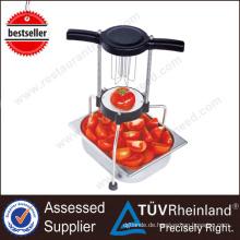 Küchengeräte 6 Wedges Industrielle Gemüseschneider-Maschine