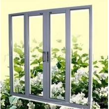 Portes en verre coulissantes en aluminium à double prix