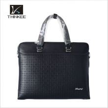 Wholesale Customize Italian Top Layer Crazy Horse Genuine Leather 15' Mens Business Briefcase Leather Laptop Bag for Men
