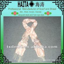 Écharpe en soie pour la dinde