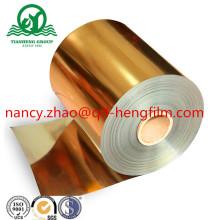 Filme de PVC rígido transparente para metalização