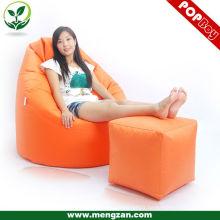 Canapé en forme de canapé chaise sectionnelle en feutre canapé adulte sac de haricot sac de haricots non rempli