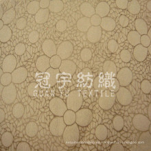 Gamuza grabada 100% poliéster Tejido textil para el hogar para sofá