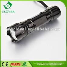 Ein / Aus Knopfschalter Aluminiumlegierung leistungsfähige geführte Taschenlampenfackel