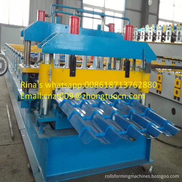 steel sheet roof sheet roll forming machine line 04