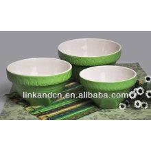 Cuenco de esmalte / tazón de porcelana