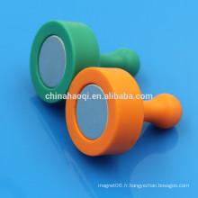 Épingles magnétiques colorées NdFeB colorées