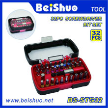 Power Long Handle Screwdriver Bits 32PCS Bit Set
