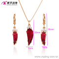 63409-Xuping Promotion Hot sale Woman Jewelry Set Nice Design Jewelry