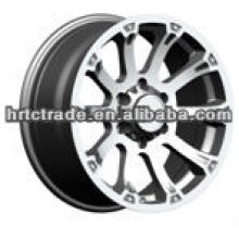 17 inch black chrome new car rims for toyota