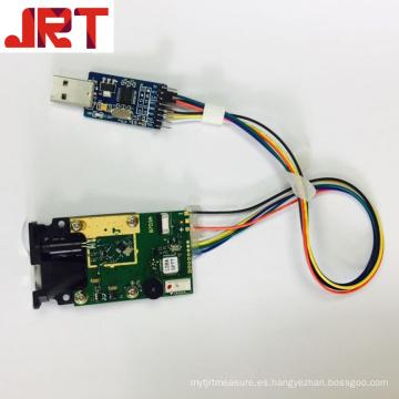 Sensor de distancia láser de largo alcance de 150 m con USB