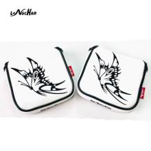 High Quality PU Leather Golf Club Headcovers Two Ears Embroidery Headcover Golf Accessories Protective Putter Headcover