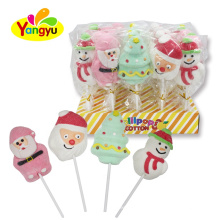 Marshmallow Lollipop Sweet Christmas Marshmallow Lollipop