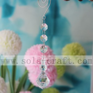 Factory Price Acrylic Crystal Faceted Ball Chandelier Accessories