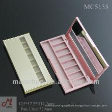 MC5135 Shantou Plastik 8 Lidschatten Palette, schlanke Augen Schatten Fall, rosa Augen Schatten Fall