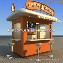 Outdoor-Kiosk für Essen