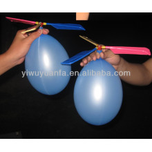 High Quality Helicopter Foil Balloons With Two 6'' Balloons