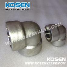 Forjaram os encaixes de tubulação de alta pressão (SS304)