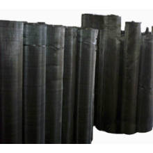 Pano de arame preto (malha de fio de filtro)