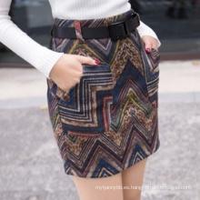 Minifalda de alta calidad de las señoras de la ropa de las mujeres al por mayor