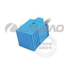 Lanbao Rectangle Kunststoff Induktive Näherungsschalter Sensor (LE25SN10D DC3 / 4)